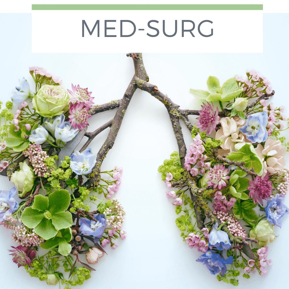 Atelectasis care plan - Med-Surg nursing student