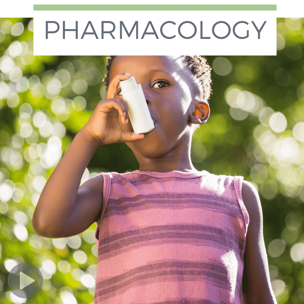 Albuterol Nursing Student Pharmacology - Straight A Nursing podcast