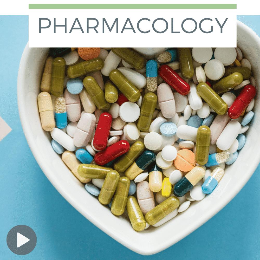 heart shaped bowl full of pills