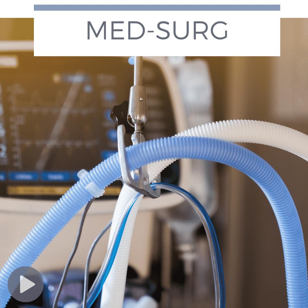 ventilator tubing in ICU