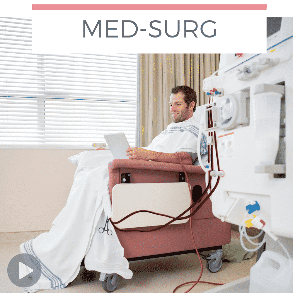 man in dialysis chair