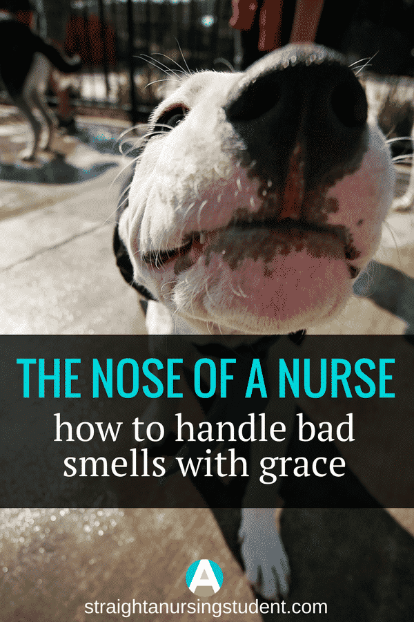 Tips on how to handle those bad smells in the hospital!