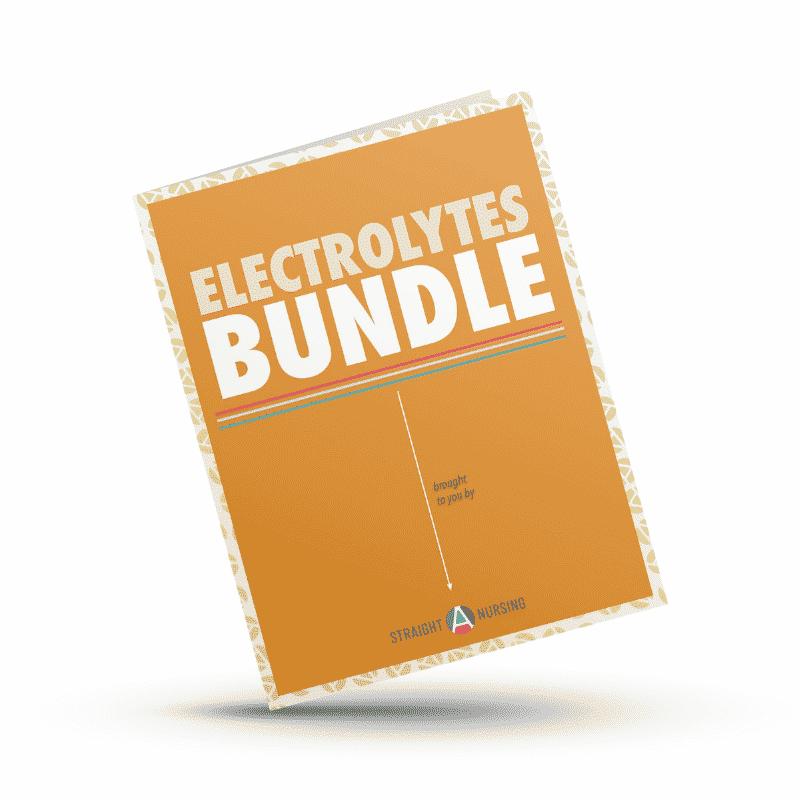 Nursing school study guide electrolytes