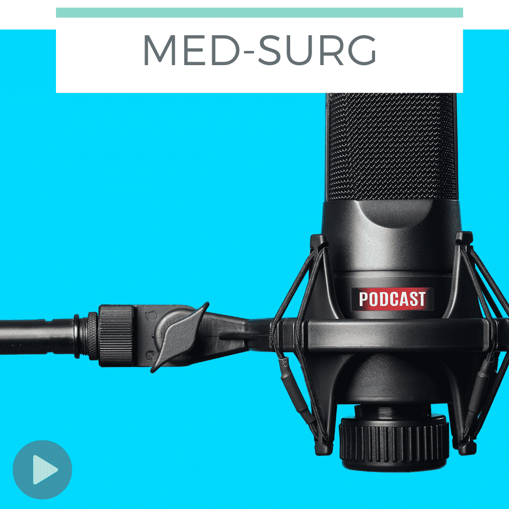 microphone against blue background