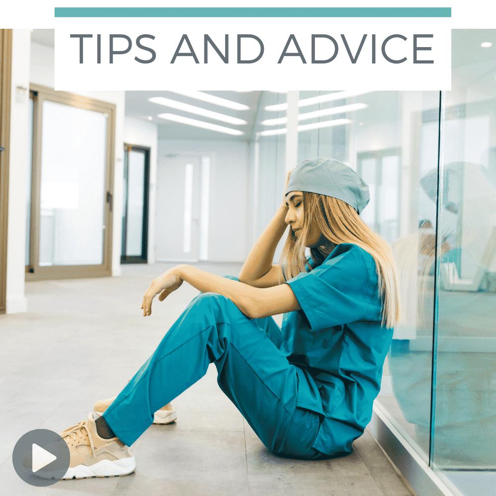 Compassion fatigue for nursing students - Straight A Nursing podcast